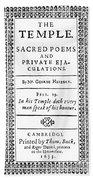 George Herbert (1593-1633) Bath Towel