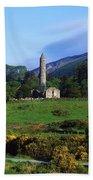 Glendalough, Co Wicklow, Ireland Bath Towel
