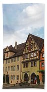 Rothenburg Medieval Old Town  Bath Towel