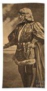Sarah Bernhardt, French Actress Bath Towel