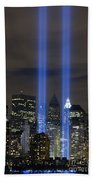 The Tribute In Light Memorial Bath Towel