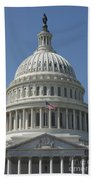 The United States Capitol Building Dome Bath Towel