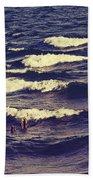 Waves Bath Towel