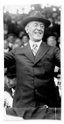 Woodrow Wilson (1856-1924) Bath Towel