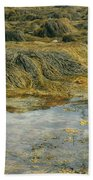 Young Girl Exploring A Maine Tidepool Bath Towel