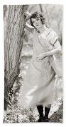 Silent Film Still: Woman Bath Towel