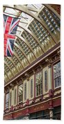 Leadenhall Market London Bath Towel