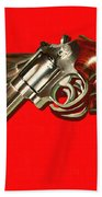 357 Magnum - Painterly - Red Bath Towel