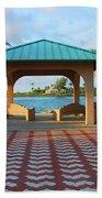 36- Palm Beach Inlet Bath Towel
