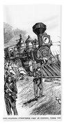 Great Railroad Strike, 1877 Hand Towel