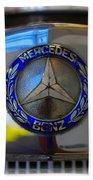 39 Mercedes-benz Logo Bath Towel