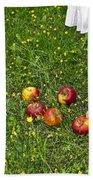 Apples Bath Towel