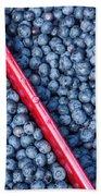 Blueberry Harvest Bath Towel
