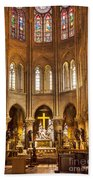 Cathedral Notre Dame  Bath Towel