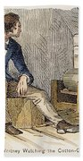 Eli Whitney (1765-1825) Bath Towel