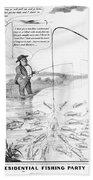 Presidential Campaign, 1848 Bath Towel
