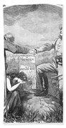Presidential Campaign, 1864 Bath Towel