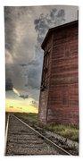 Storm Clouds Saskatchewan Bath Towel