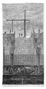 Brooklyn Bridge, 1870 Bath Towel