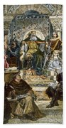 Charlemagne (742-814) Bath Towel