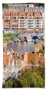 City Of Gdansk In Poland Hand Towel