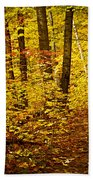 Fall Forest Bath Towel