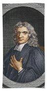 John Flamsteed, English Astronomer Bath Towel