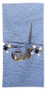 Mc-130p Combat Shadow In Flight Bath Towel