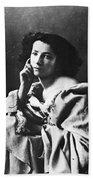 Sarah Bernhardt Bath Towel