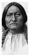 Sitting Bull (1834-1890) Bath Towel
