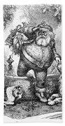 Thomas Nast: Santa Claus Bath Towel
