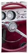 55 Chevy Ss Dash Bath Towel