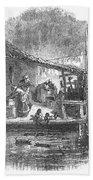 Arkansas: Hot Springs, 1878 Bath Towel