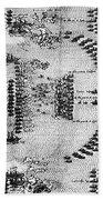 Battle Of Lepanto, 1571 Bath Towel