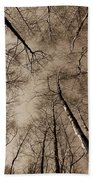 Epping Forest Trees Bath Towel