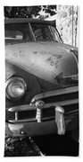 Route 66 Classic Car Bath Towel
