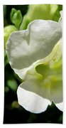 Snapdragon From The Mme Butterfly Mix Bath Towel