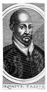 Torquato Tasso (1544-1595) Bath Towel