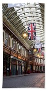 Leadenhall Market London Bath Towel