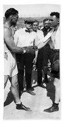 Jack Dempsey (1895-1983) Bath Towel