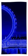 London Eye Art Bath Towel