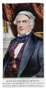 Millard Fillmore (1800-1874) Bath Towel