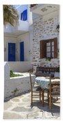 Paros - Cyclades - Greece Bath Towel