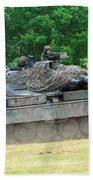 The Leopard 1a5 Main Battle Tank Bath Towel