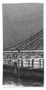 Albert Bridge London Bath Towel