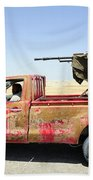 A Free Libyan Army Pickup Truck Hand Towel