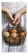 Eggs Bath Towel