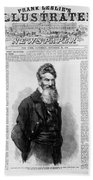 John Brown, American Abolitionist Bath Towel