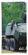 A Belgian Army Piranha IIic With The Fn Bath Towel