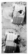A Coalition Bombing Of Aircraft Hangers Bath Towel